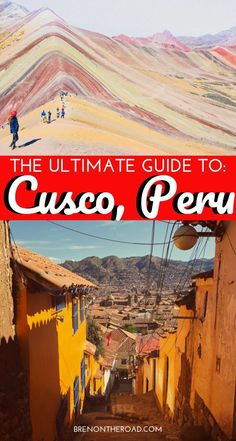 The ultimate guide to Cusco, Peru! If youre traveling to Peru, be sure to visit Cusco!  Heres an article about where to stay in Cusco, things to do in Cusco, where to go in Cusco. Peru travel guide, things to do in Peru, where to go in Peru! #Cusco #peru #Perutravel