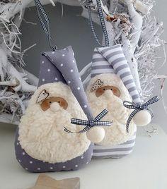 Süsser Nikolaus! Ein zauberhafter Nikolaus zum Aufhängen oder Befüllen. Du kannst ihn an den Weihnachtsbaum, an einen dicken Ast, Kranz oder einfach an die Tür hängen. Auf der Rückseite...