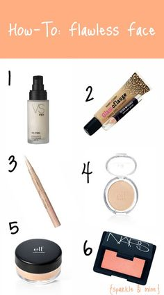 Sparkle & Mine: How-To: Flawless Face