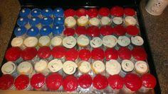 Cupcakes...made these for my sons basic training going away party