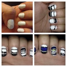 On the way to nail art- seahawks