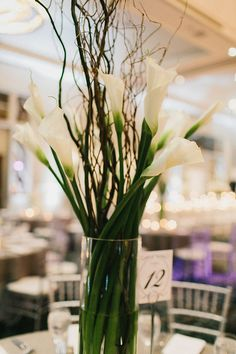 Stand out in simple elegance with this gorgeous large arrangement of white lilies. Wedding Ceremony, Reception, Lilies Flowers, Grand Hyatt, Centerpieces, Table Decorations, White Lilies, Wedding Table Settings, Atlanta Wedding