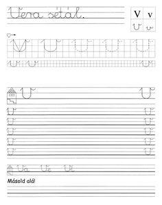 Fotó: Tracing Worksheets, Alphabet Worksheets, Preschool Worksheets, Christmas Color By Number, Christmas Colors, Sheet Music, Album, Teaching, Handwriting