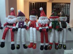 Homemade Christmas Gifts, Christmas Crafts, Harry Potter Tattoos, Christmas Stockings, Projects To Try, Santa, Holiday Decor, Margarita, Crochet Dolls