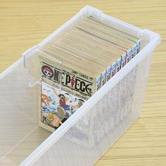 interior-palette | Rakuten Global Market: Comic storage case and put the freezer comic book for (storage case comic book storage lid plastic storage boxes for comics comic books comic book plate dividers)