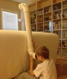DIY PVC Periscope (lots of great DIY projects for kids here)