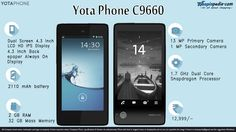 YotaPhone Specifications - Infographics– Infographics @ Shopinpedia