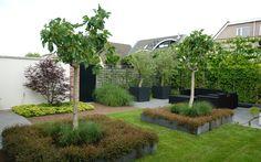 Moderne klassieke tuin in Wognum. Van Veen Tuinontwerpen tuinontwerp hovenier tuinaanleg
