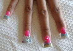 Duck Feet Nail Art.