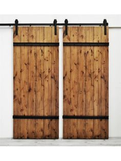 Drawbridge Handmade Double Barn Doors