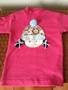 Camiseta niña con gorro