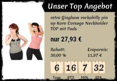 +++TOP ANGEBOT+++  Mit dieser wuunderbaren #50er Jahre Style #Corsage von #SugarShock seid ihr überall der Blickfang! Jetzt 30% günstiger!  www.goinsane.de