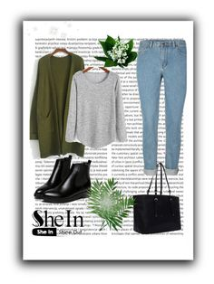 """Shein"" by merima-gutic ❤ liked on Polyvore featuring mode en WithChic"