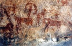 It is located in the Raisen District in the Indian state of #MadhyaPradesh. #Bhimbetka is a natural art gallery and an archaeological treasure. For miles together, the footsteps of the prehistoric man can be easily discerned upon the sands of time, since the caves here house #rockpaintings, created by man from as early as about 15,000 years ago in vivid and panoramic detail.