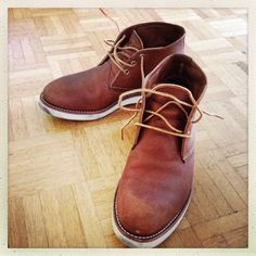 Red Wing #Chukka #boots Red Wing, My Style, Boots, Fashion, Crotch Boots, Moda, Fashion Styles, Shoe Boot, Fasion