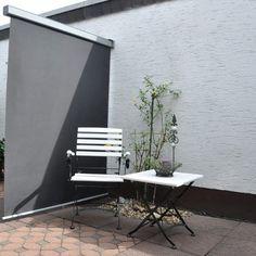 Leco Balkon Oprolbaar Windscherm - Grijs - 200x150cm