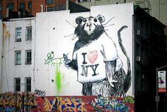 Banksy, New York
