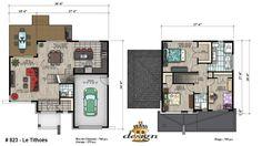Cottage Plan, Large Homes, Plan Design, Home Goods, House Plans, New Homes, Floor Plans, House Design, Flooring