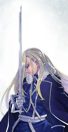 Olivier Mira Armstrong. Having watched FMAB first, I really missed her while watching FMA.