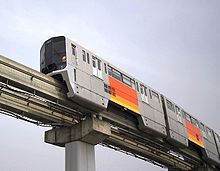 Tama Toshi Monorail, operated by Tokyo Tama Intercity Monorail Co., Ltd. between the Higashiyamato and Tama municipalities of Tokyo, Japan. It was built by Hitachi Railway Systems, and began service in 1998. #train #monorail #tama #higashiyamato #japan #hitachi
