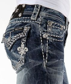Miss Me Rhinestone Boot Stretch Jean - Just got these today!! :)