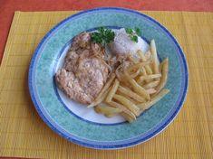 Fotorecept: Kuracie prsia s cibuľkou na prírodno Steak, Pork, Beef, Kale Stir Fry, Meat, Pigs, Ox, Steaks, Ground Beef