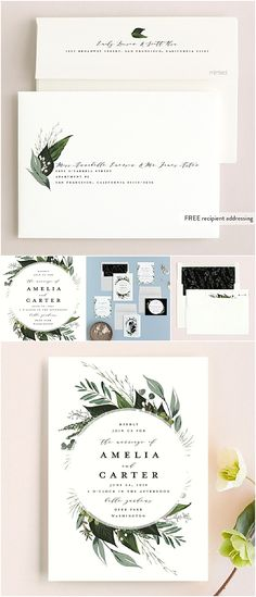 Husband and wife Edmonton wedding photographers. From all the details that went into your wedding, to all the emotions - let's tell your story. Wedding Stationery, Wedding Invitations, Weddingideas, Greenery, Weddings, Natural, Photography, Inspiration, Biblical Inspiration