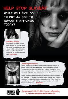 Human Trafficking Campaign | Designer: Homaa Hamid | Image 2 of 5