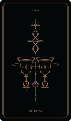 Two Of Cups, Tarot Card Tattoo, Witchy Wallpaper, Tarot Astrology, Tarot Major Arcana, Tarot Learning, Tarot Card Meanings, Witch Aesthetic, Oracle Cards