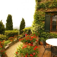 My new Tuscan Villa...   Boy, will I ever entertain here!
