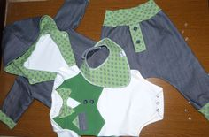 boys christianing clothes set