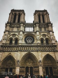 Notre Dame Cathedral in Paris is a must-see in the City of Love. Its neo-gothic structure and dark interiors never fail to mesmerise visit. Rio Sena, European City Breaks, Paris Ville, Dark Interiors, Gothic Architecture, Adventure Travel, Places Ive Been, Holland, Building