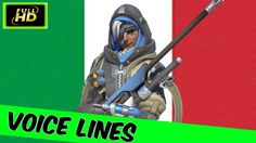 Ana Voice Lines   Overwatch Ana Italian Voice Lines   Overwatch Ana Quotes