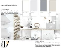 Nuancier Blanc de blanc