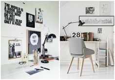 Even the cutest home offices eventually grow dull and scruffy through everyday use, and we all know that glum workplaces are not in the least conducive to productivity, creative flow,...