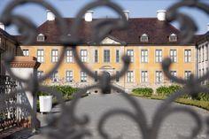 "Oranienbaum Castle, Germany; part of the UNESCO World Heritage Site ""Garden Kingdom Dessau-Wörlitz"""