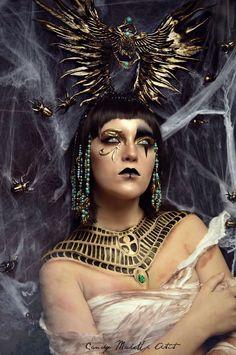 Ekstremalne makijaże zainspirowane mrocznym światem fantastyki.