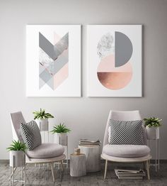 Geometric Harmony Canvas set of 2 canvas prints will create a beautiful gallery wall decor in any home. It features geometric elements in different colour options like charcoal navy, blush, marble and copper like texture (NOT a foil print), blush and grey, grey, black & silver, teal green. Beautiful diptych for modern walls of any space like office, bedroom, living room, nursery etc. inspired by minimal Scandinavian design. Chic and modern housewarming gift. Elevate your space by creating a…