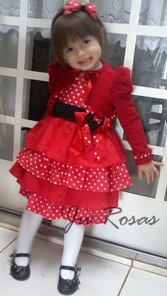 1000 Images About Vestidos On Pinterest Minnie Mouse
