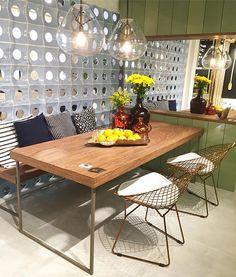 Bom dia {💜} Tem post novo no blog com vários detalhes da @casacorparaiba 📸 Na foto a Fit Kitchen { Projeto Sarah Cavalcanti e Dauanne Arruda }