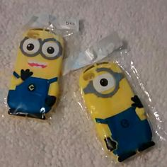 !SALE! PRICE FIRM! NWT Minion phone case Minion iphone 5/5s silicone phone case. Perfect condition *listing only includes 1 minion, two-eyed minion. Accessories Phone Cases