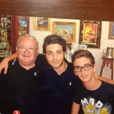 1-29-14, the Ginoble men, photo by Ercole Ginoble.  It's in the genes.