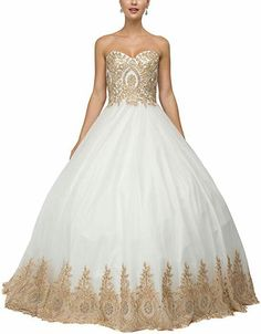 30908115eda online shopping for LMBRIDAL Women s Lace Appliqued Sweetheart Quinceanera  Dress Ball Gowns from top store. See new offer for LMBRIDAL Women s Lace ...