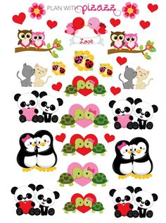You will receive one sheet of matte finish die cut stickers. This sheet includes super cute PERFECT MATE Valentine theme stickers. These stickers