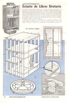 Mi Mecánica Popular - imgs40/estante de libros giratorio enero 1948-01g