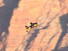 "Watch: ""Jetman"" soars over Wisconsin"