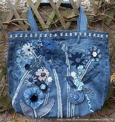 ABruxinhaCoisasGirasdaCarmita: Aproveitar jeans, um saco giro
