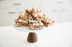 S'mores Rice Krispies Treats. The latest installment from What's Gaby Cooking?