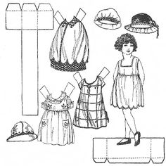 This has great paper-dolls to color!