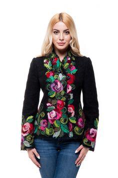"""Жакет """"Паулина"""" - Юкостайл. Магазин дизайнерской одежды оптом и в розницу."""